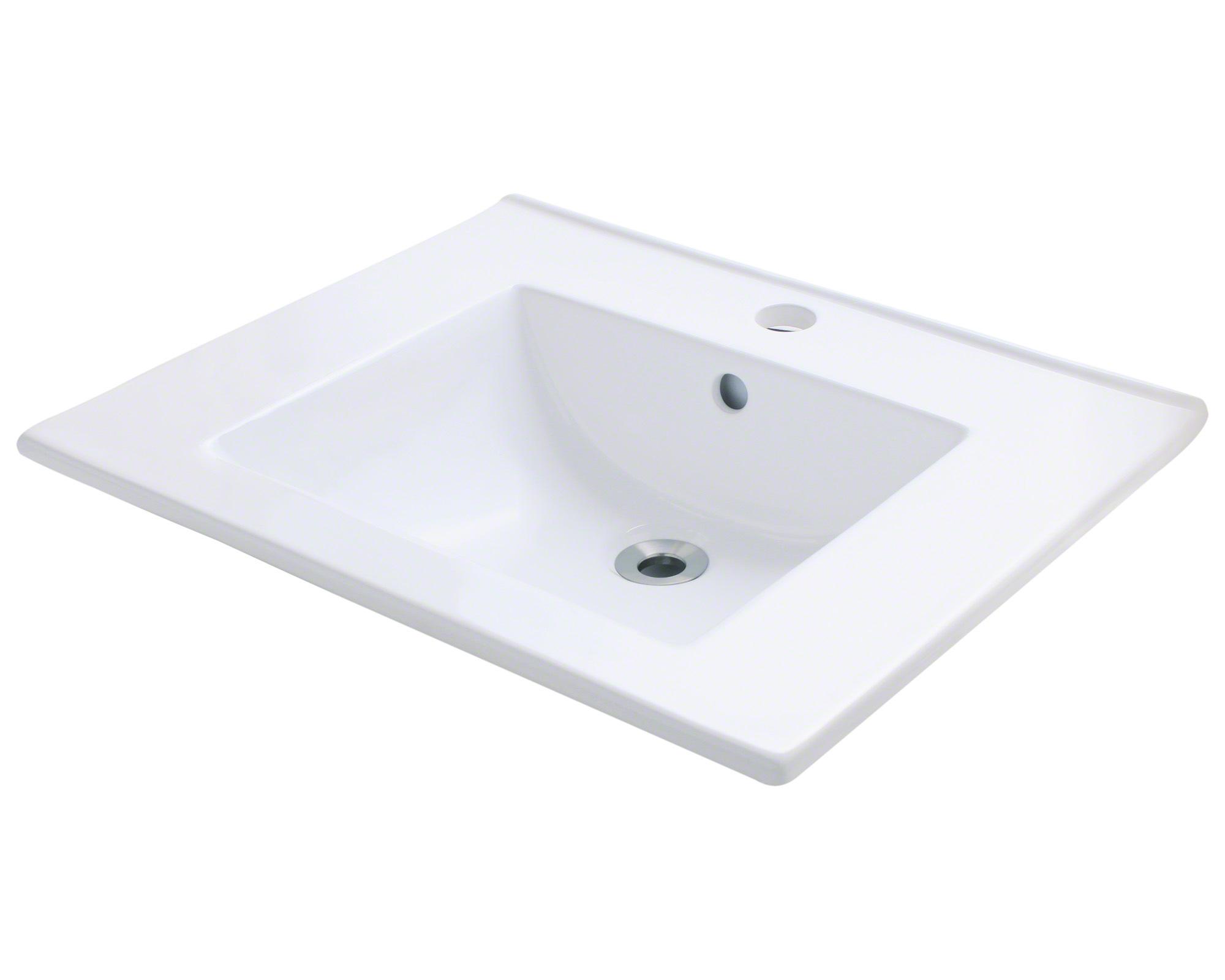 P013VW Porcelain Vessel Sink