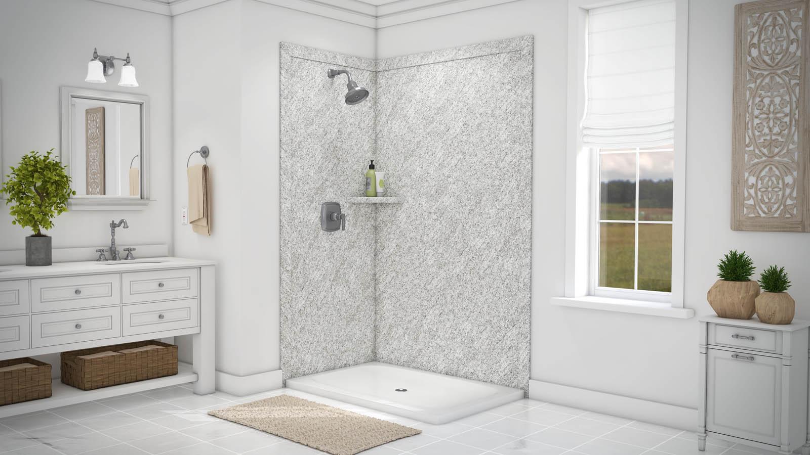 Flexstone Ssk48367821 Elegance 2 Wall Shower Kit Builtinz