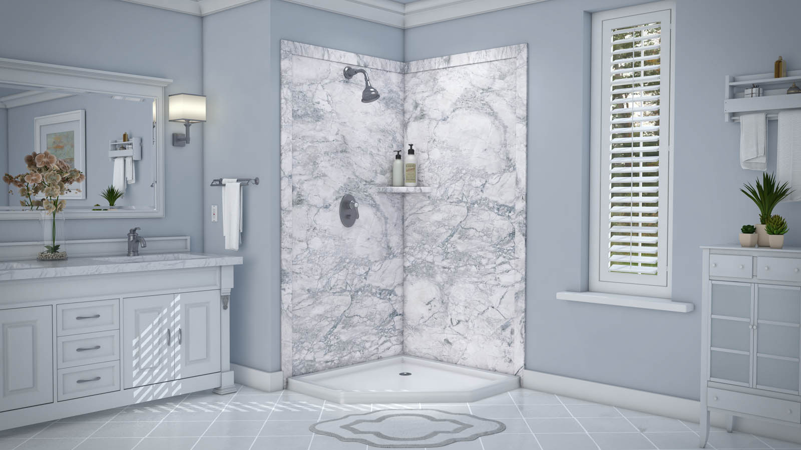 Flexstone Shower Surround Reviews - Shower Designs