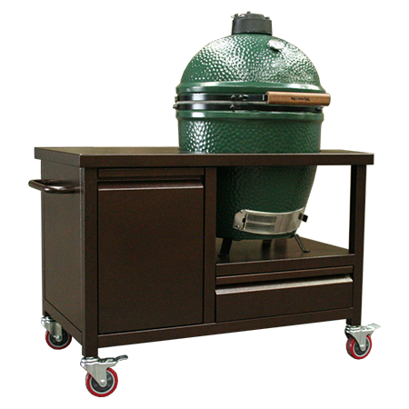 Builtinz Komando Crate with Big Green Egg