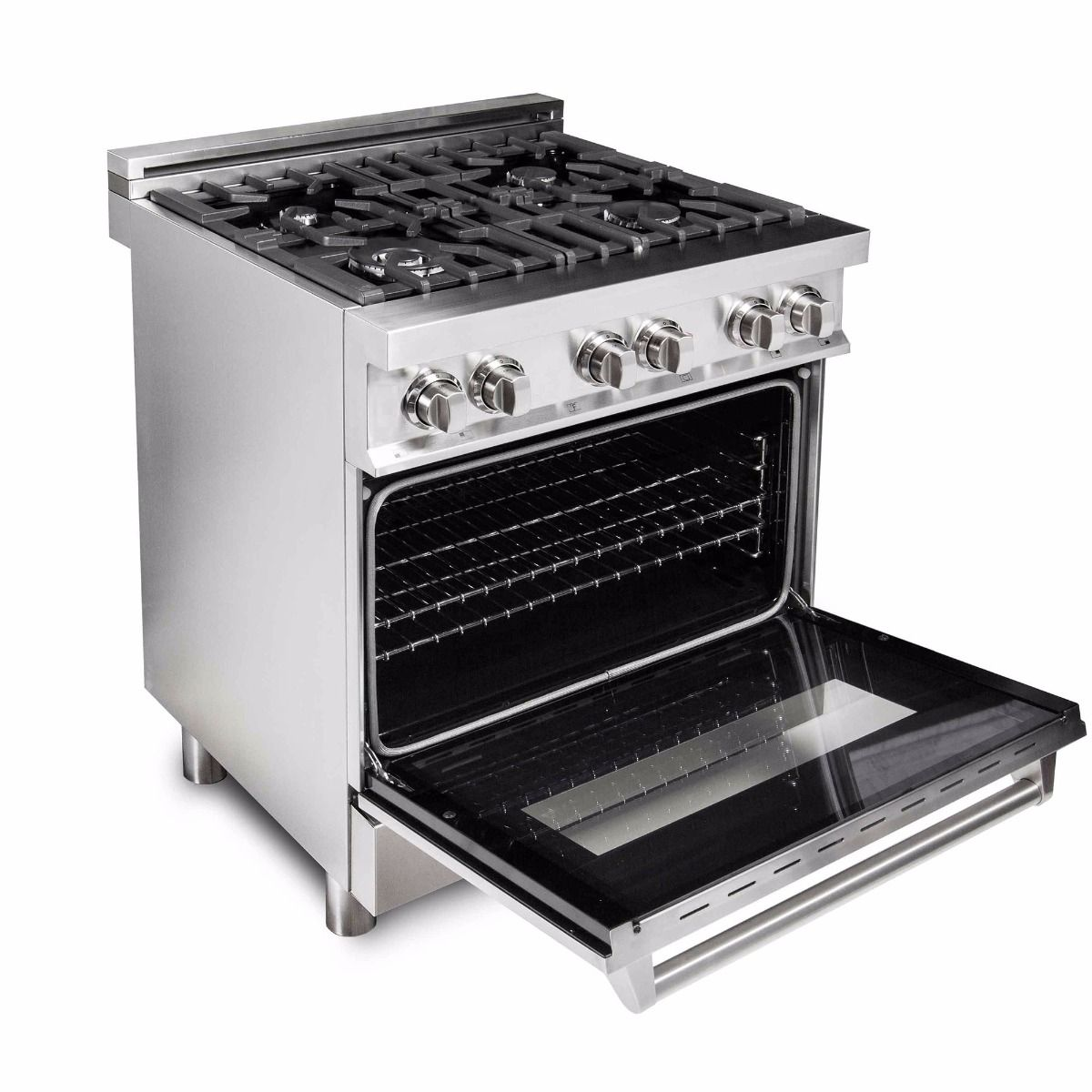 E30-40 Stainless Steel 30″ Wide Dual Fuel