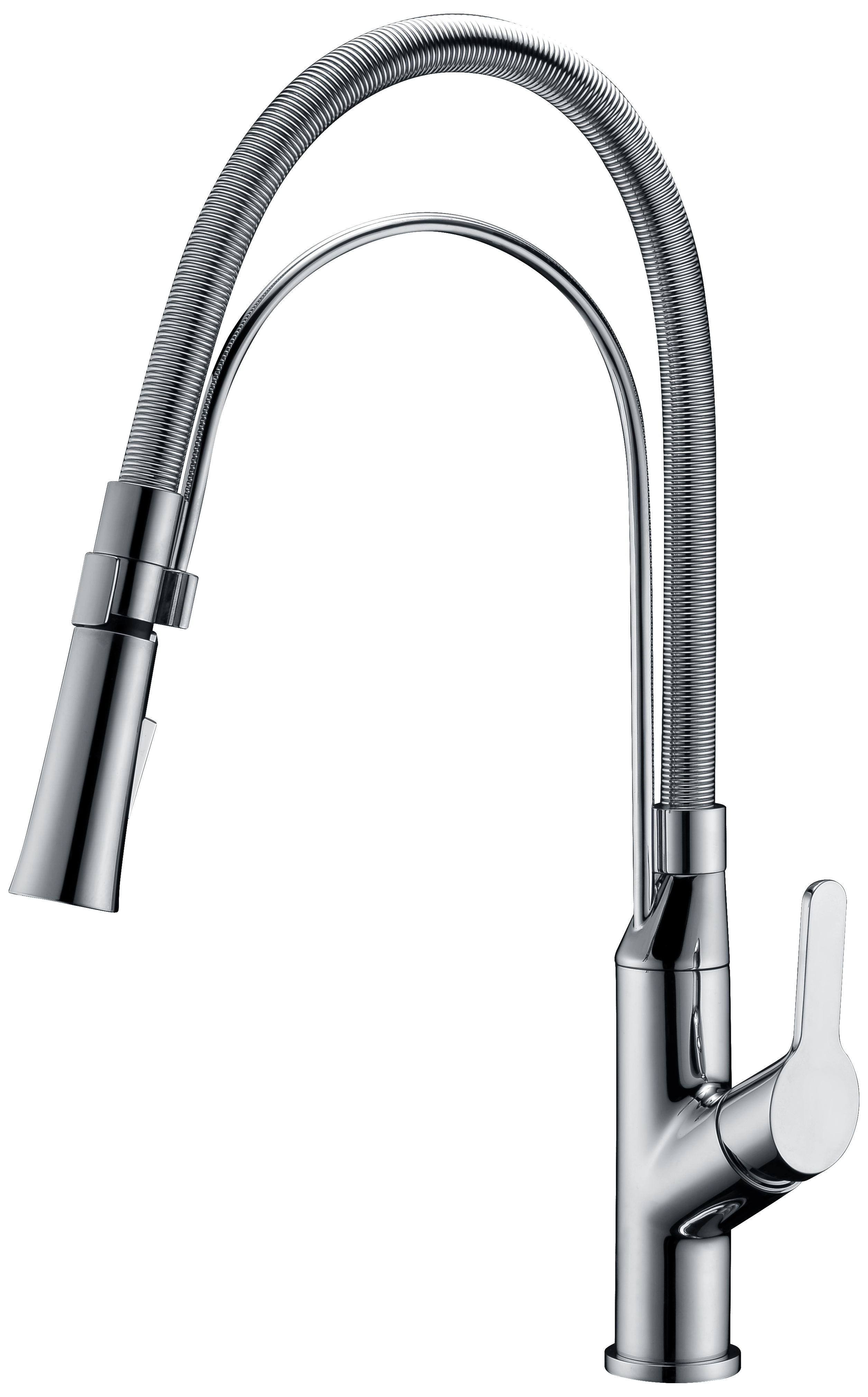 Dawn AB08 3152BN Single-Lever Kitchen Faucet Brushed Nickel