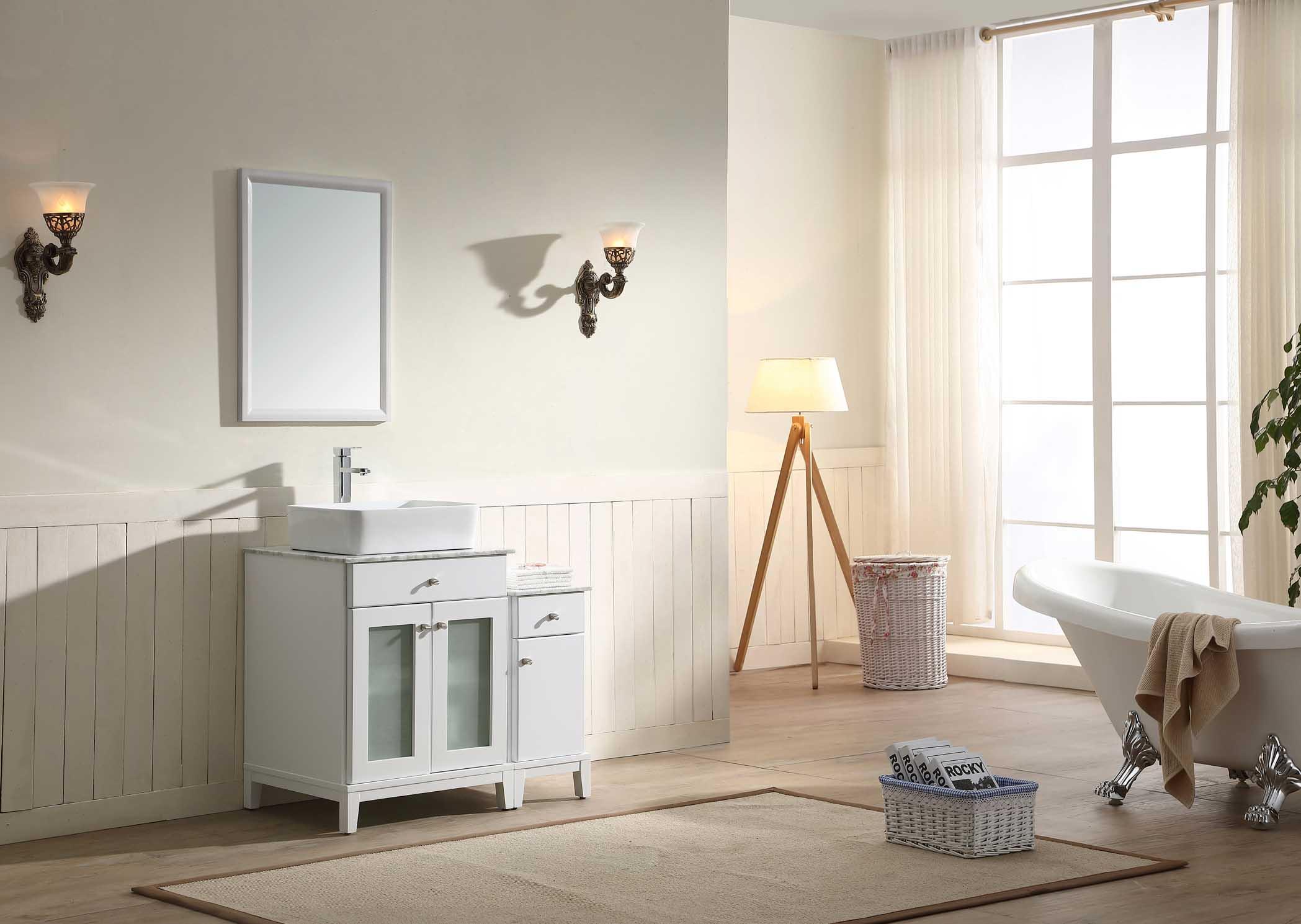 AAJU-3601 | Dawn® Julie Series White Vanity Set ; Counter Top ...