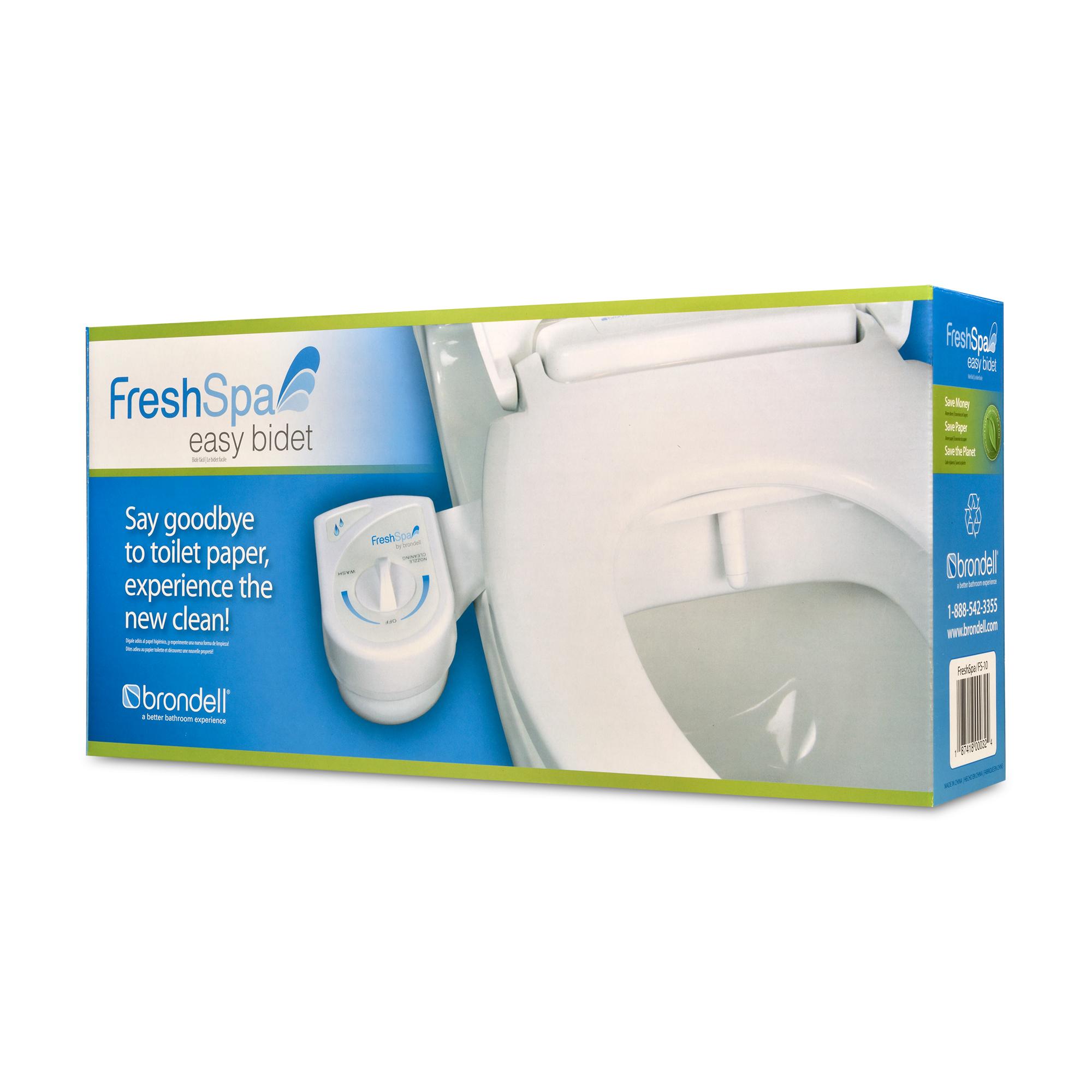Fs 10 Brondell Inc Freshspa Easy Bidet Toilet Attachment Builtinz