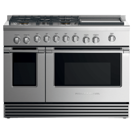 "RGV2- 485GD-N-N Fisher & Paykel 48"" Dual Fuel Range"