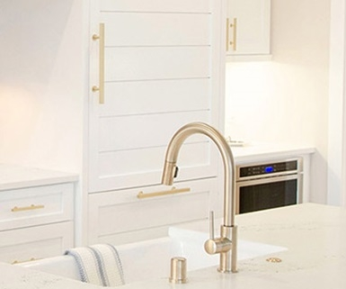 Kitchen plumbing including faucets, sinks, disposals etc.