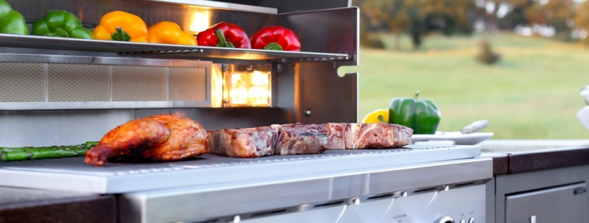 Outdoor Kitchen Appliances- grills and barbeques, fridges, ventilation and more