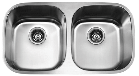 VS-50/50 ESI Double Bowl Stainless Undermount Sink