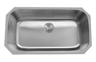 LB-3218 ESI Stainless Single Bowl Undermount Sink