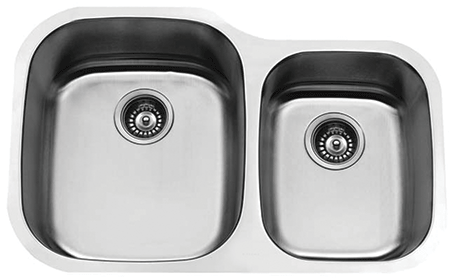VS-60/40 ESI Stainless Double Bowl Sink