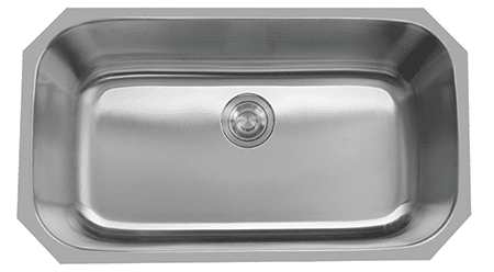 VS-3218-18 ESI Stainless Single Undermount Sink